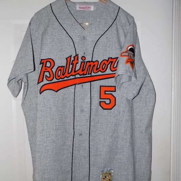 sports shoes 19ae9 8306c Mitchell and Ness Brooks Robinson Orioles Jersey
